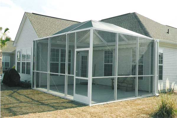 Aluminum screen cost of aluminum screen porch for Patio screen enclosures prices